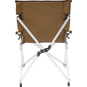 CAMPZ Silla Plegable Aluminio, brown